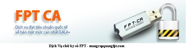 Đăng ký Chữ Ký Số FPT