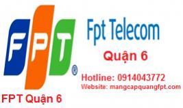 Đăng ký mạng internet FPT quận 6 TPHCM
