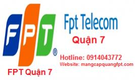 Lắp đặt internet FPT Quận 7 khu vực TPHCM