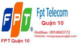 Lắp đặt mạng internet FPT Quận 10 tại TPHCM