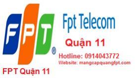 Lắp đặt mạng internet FPT Quận 11 tại TPHCM