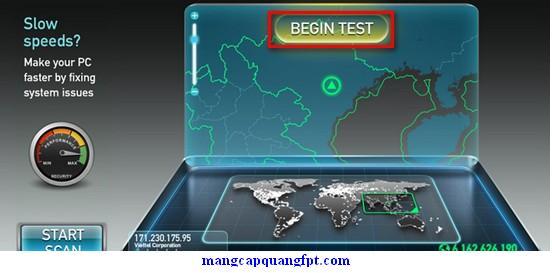 Cách đo tốc độ đường truyền Internet FPT