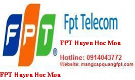 Lắp đặt internet FPT Hóc Môn TPHCM giá rẻ