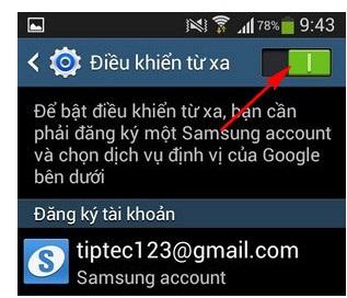 Cách tìm lại điện thoại SamSung dễ dàng với Find my Mobile