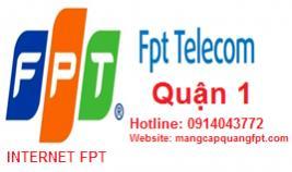 Đăng ký mạng internet FPT Quận 1 tại TPHCM