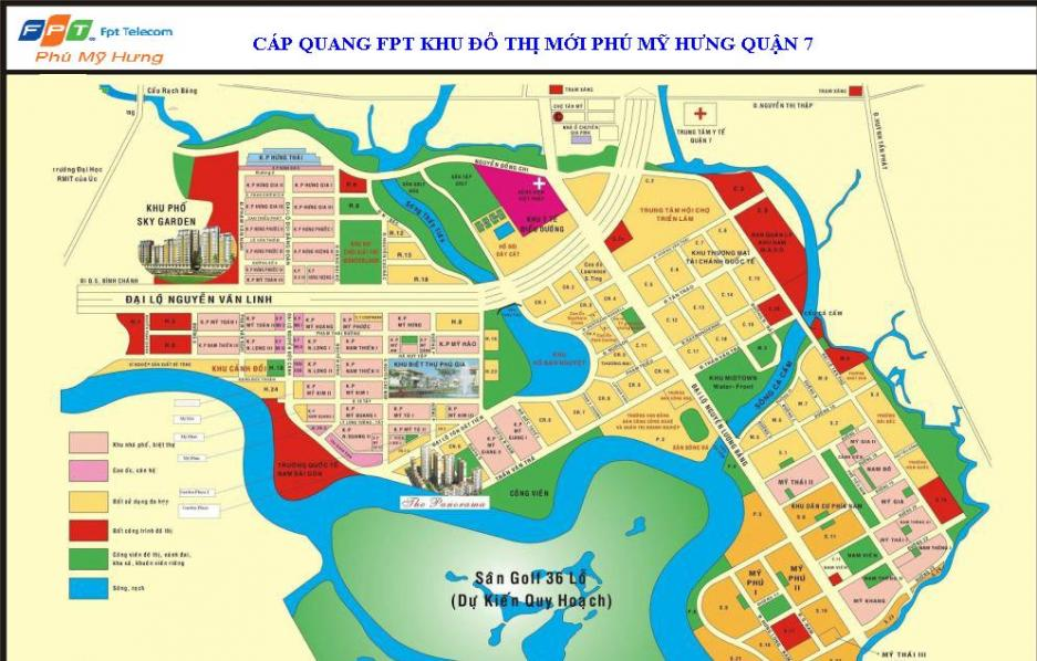 FPT khuyến mãi lắp đặt cáp quang FPT Phú Mỹ Hưng TPHCM