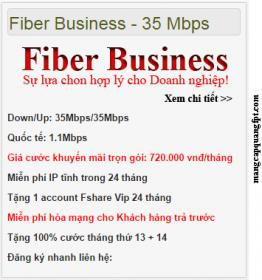 Gói fiber business
