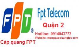 Đăng ký mạng internet FPT Quận 2 TPHCM giá tốt