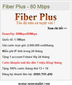 Gói Fiber PLus