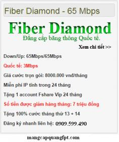 Gói Fiber DiaMond