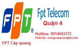 Đăng ký mạng internet FPT Quận 4 TPHCM
