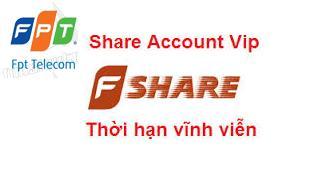 Chia sẽ tài khoản ViP Fshare cập nhật hàng tháng
