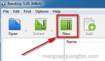 Bandizip Ứng dụng nén và giải nén file dữ liệu