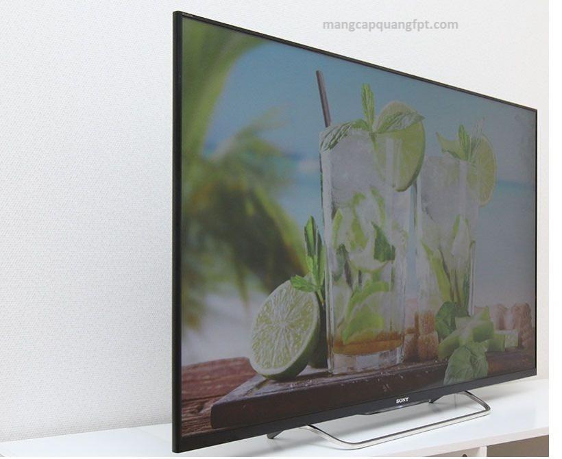 Thông số và giá bán Internet TV 3D LED Sony KDL-50W800B