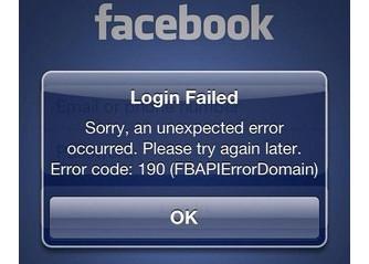Khắc phục lỗi 109 trên Iphone không vào facebook được
