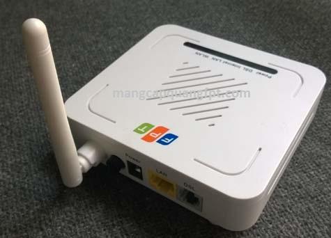 Hướng dẫn cấu hình modem FPT FP801W