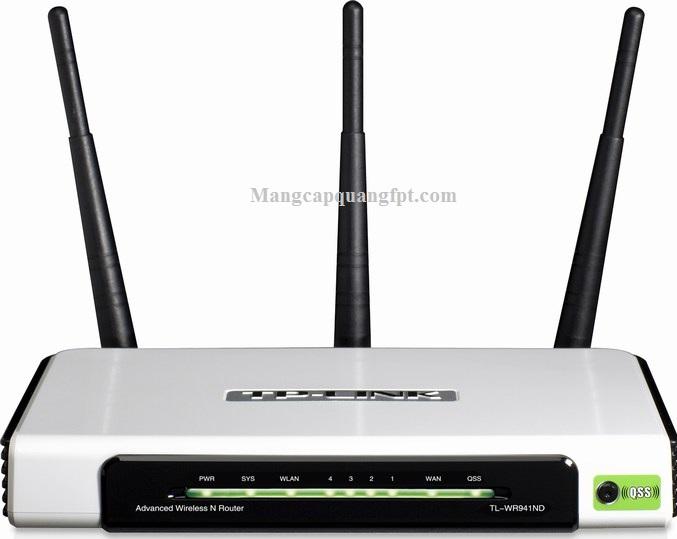 Gia ban va cac tinh nang cua Router Wifi Tplink TL WR940N