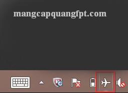 Cách bật tắt chế độ máy bay trên Windows 8.1