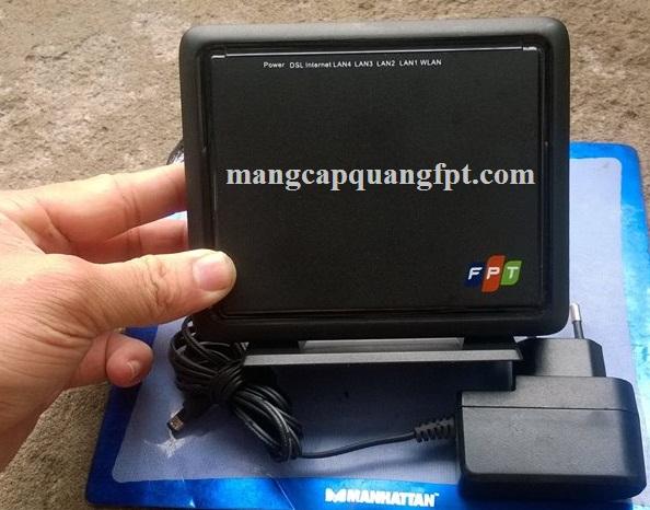 hướng dẫn cấu hình modem wifi 4 cổng FPT FP804W