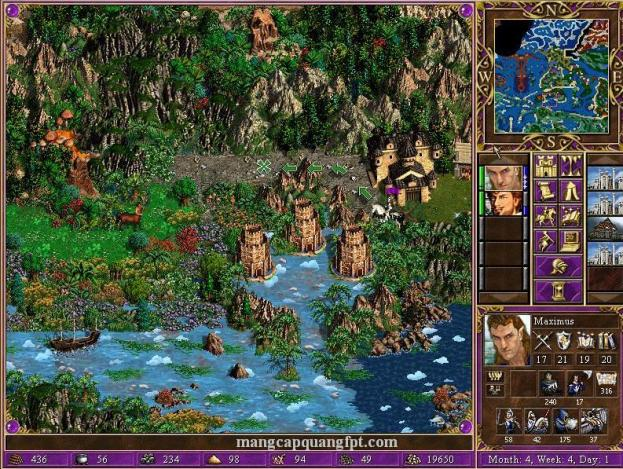 Linh tải game cũ Heroes III Might and Magic