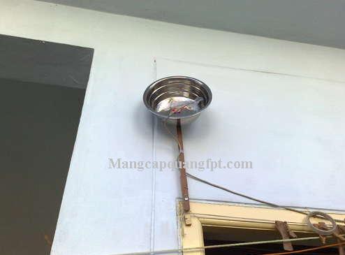 Hướng dẫn cách tăng sóng 3G bằng cách chế angten chảo thu sóng