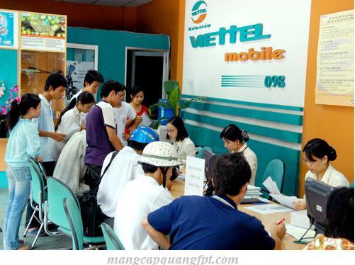 Các hình thức thanh toán cước internet của Viettel