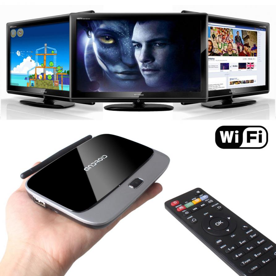Nâng cấp TV lên TV thông minh bằng TV Box