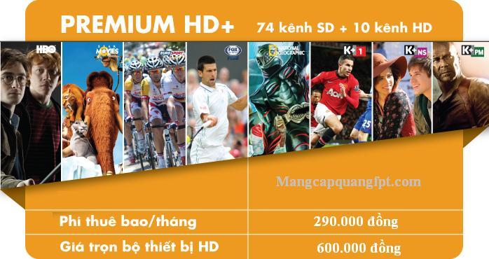 Lắp truyền hình K+ xem ngoại hạng Anh