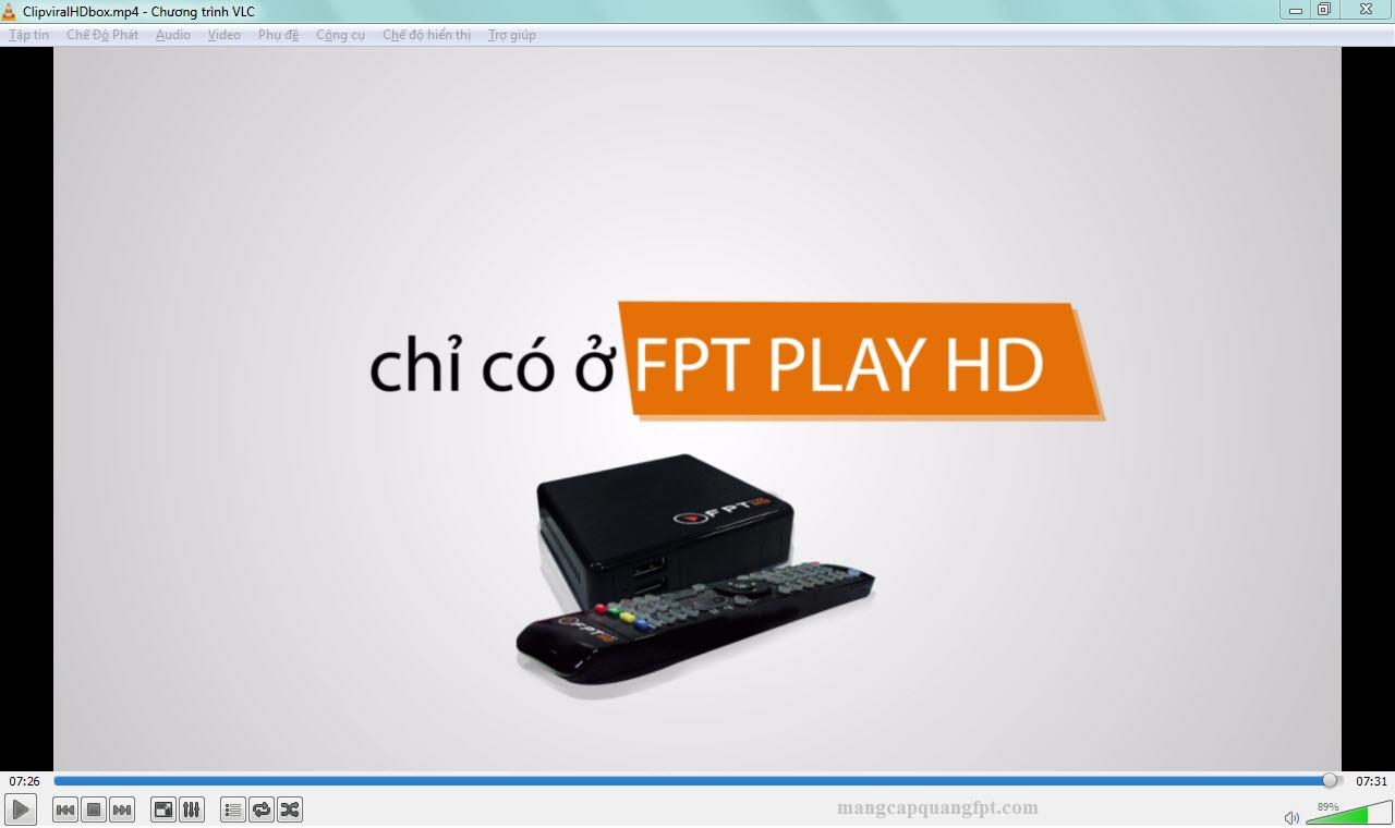 Truyền hình tương tác IPTV của FPT telecom