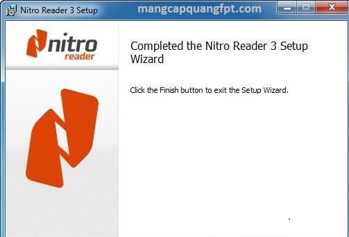 Nitro PDF Reader phần mềm chỉnh sửa tài liệu PDF