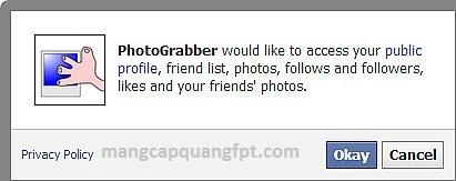 PhotoGrabber ứng dụng tải album hình ảnh từ Facebook