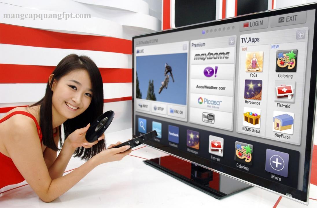 Sỡ hữu thiết bị Internet TV với giá chỉ 660.000 Đ