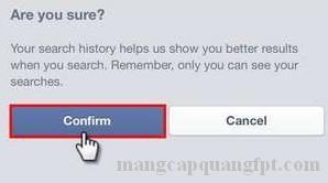 Hướng dẫn xóa lịch sử tìm kiếm facebook trên SmartPhone