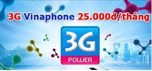 Đăng ký gói 3G Max cho Sinh viên Vinaphone chỉ 25000đ