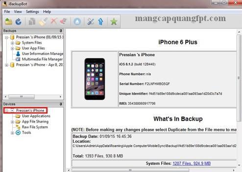 Cách kiểm tra Iphone 6 đã sạc bao nhiêu lần